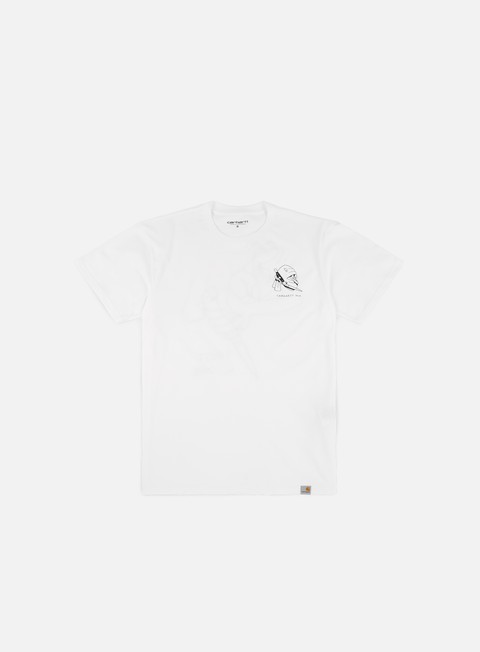 t shirt carhartt trust no one t shirt white black