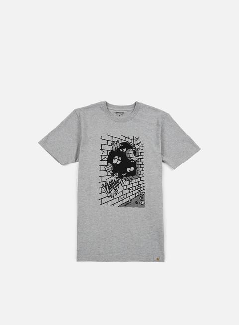 Outlet e Saldi T-shirt a Manica Corta Carhartt Wall C T-shirt