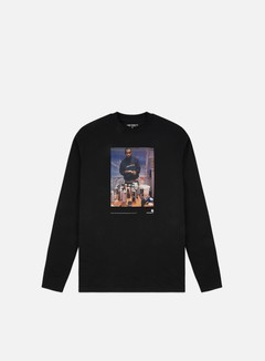 Carhartt WIP - 1998 Ad Jay One LS T-shirt, Black