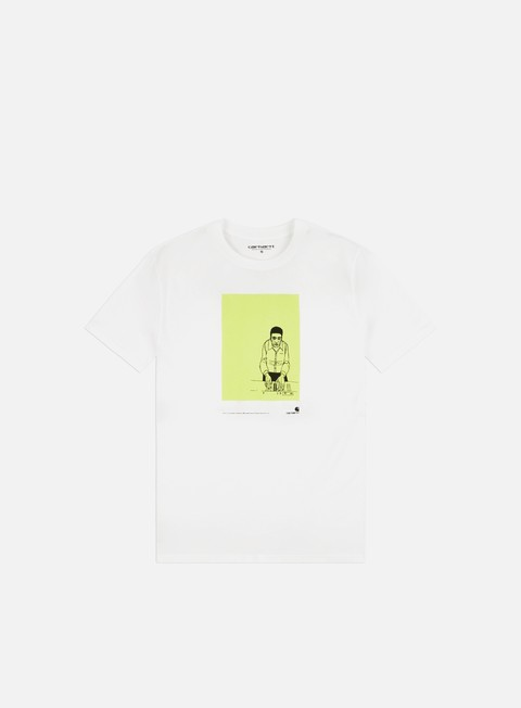 Outlet e Saldi T-shirt a Manica Corta Carhartt WIP 1999 Ad Evan Hecox T-shirt