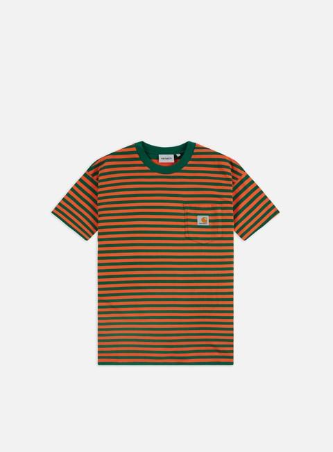 Outlet e Saldi T-shirt a Manica Corta Carhartt WIP Barkley Pocket T-shirt