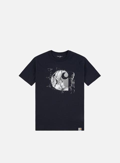 Outlet e Saldi T-shirt a Manica Corta Carhartt WIP Broken Glass T-shirt