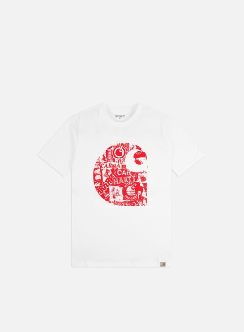 Outlet e Saldi T-shirt a Manica Corta Carhartt WIP Collage T-shirt
