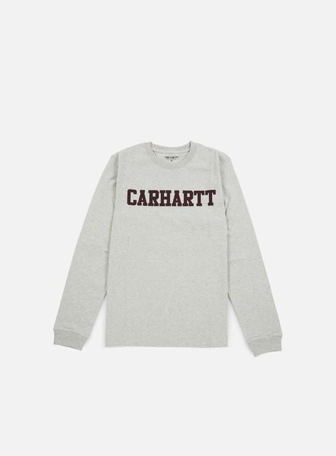 Outlet e Saldi T-shirt a Manica Lunga Carhartt WIP College LS T-shirt