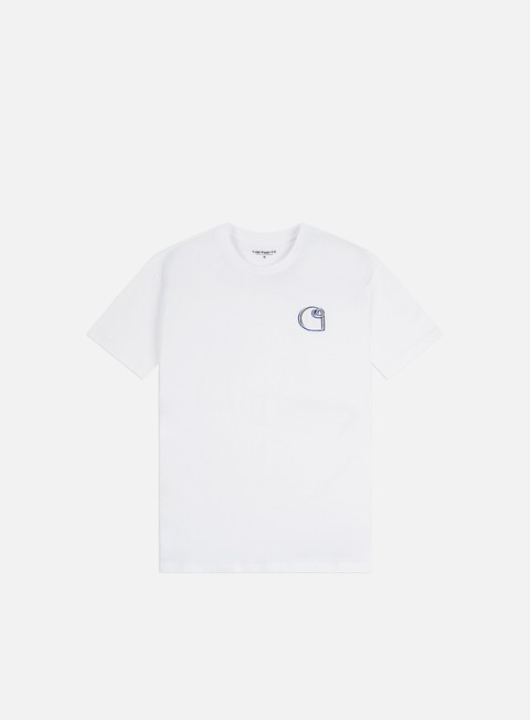 Short Sleeve T-shirts Carhartt WIP Commission Logo T-shirt