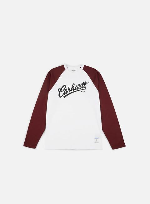 Outlet e Saldi T-shirt a Manica Lunga Carhartt WIP Craft Script LS T-shirt
