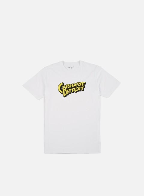 Outlet e Saldi T-shirt a Manica Corta Carhartt WIP Doctor Detroit T-shirt