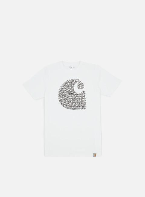 Outlet e Saldi T-shirt a Manica Corta Carhartt WIP Duck Swarm T-shirt