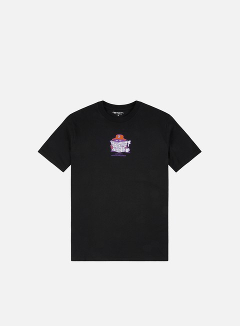 Outlet e Saldi T-shirt a Manica Corta Carhartt WIP Everything Is Awful T-shirt