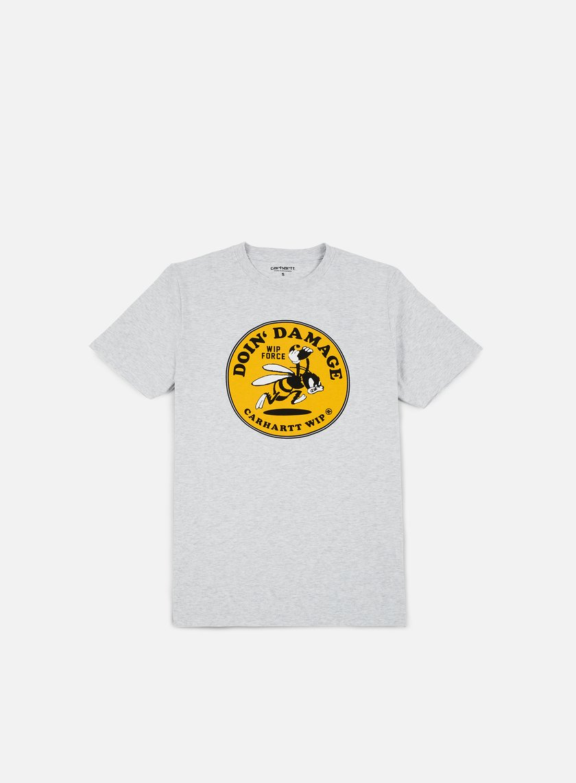 Carhartt - Wip Force T-shirt, Ash Heather