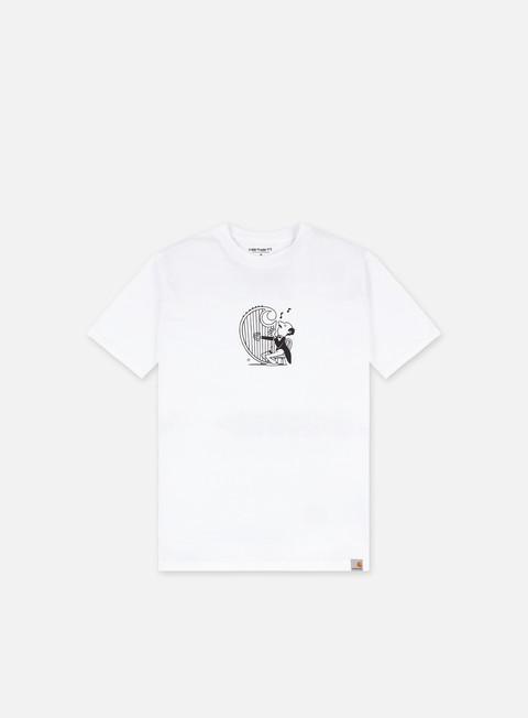 T-shirt a Manica Corta Carhartt WIP Harp T-shirt