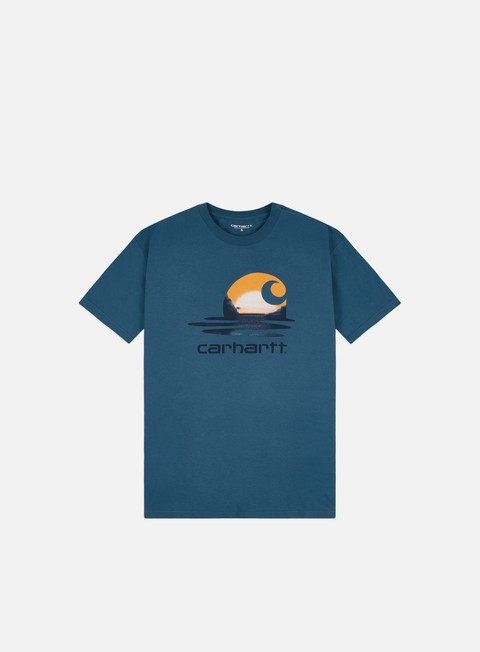 T-shirt a Manica Corta Carhartt WIP Lagoon C T-shirt