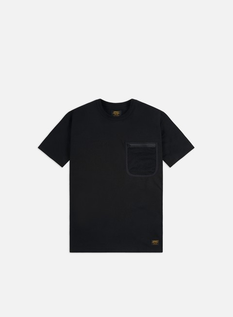 Outlet e Saldi T-shirt a Manica Corta Carhartt WIP Military Mesh Pocket T-shirt