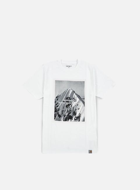 Outlet e Saldi T-shirt a Manica Corta Carhartt WIP Mountain Air T-shirt