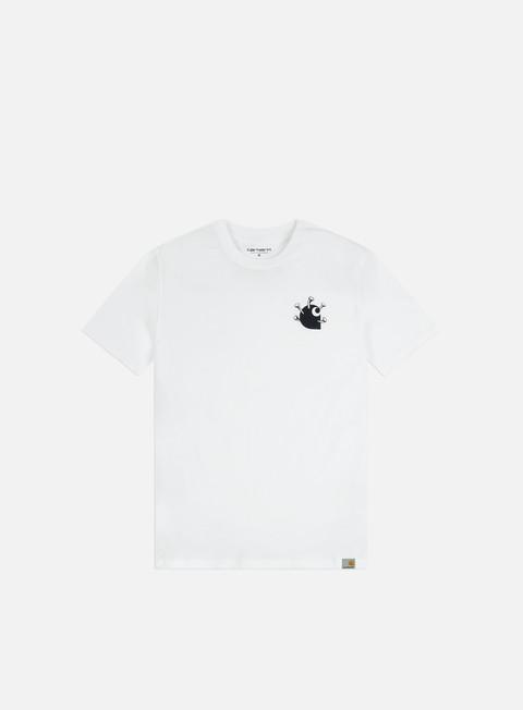 Outlet e Saldi T-shirt a Manica Corta Carhartt WIP Nails T-shirt