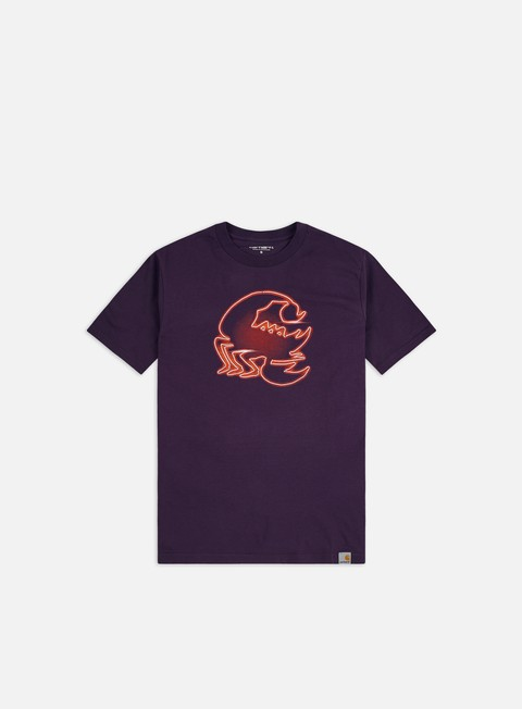 Short Sleeve T-shirts Carhartt WIP Neon Scorpion T-shirt