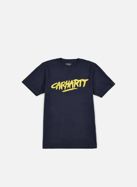 Outlet e Saldi T-shirt a Manica Corta Carhartt WIP Painted Script T-shirt