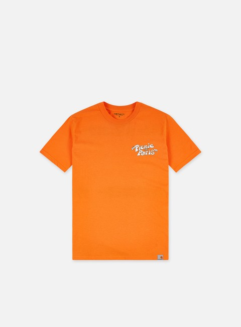 Short Sleeve T-shirts Carhartt WIP Picnic In Paris T-shirt