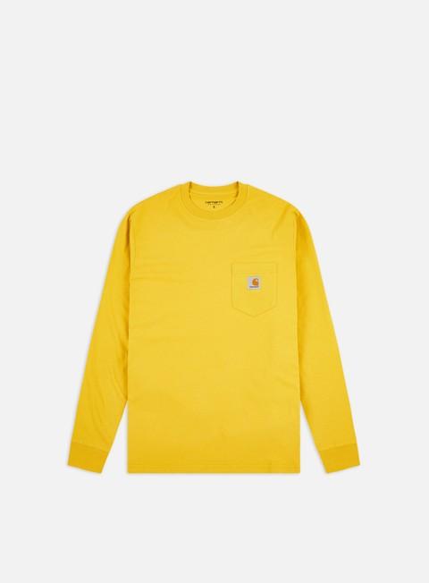 Outlet e Saldi T-shirt a Manica Lunga Carhartt WIP Pocket LS T-shirt