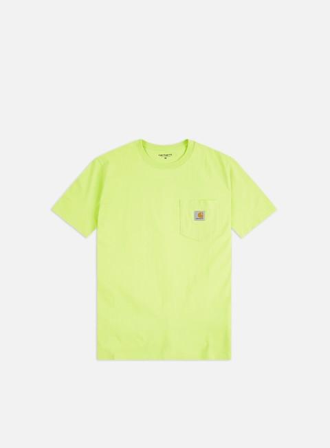 Outlet e Saldi T-shirt a Manica Corta Carhartt WIP Pocket T-shirt