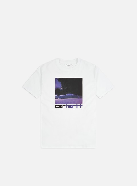 Short Sleeve T-shirts Carhartt WIP Purple Car T-shirt
