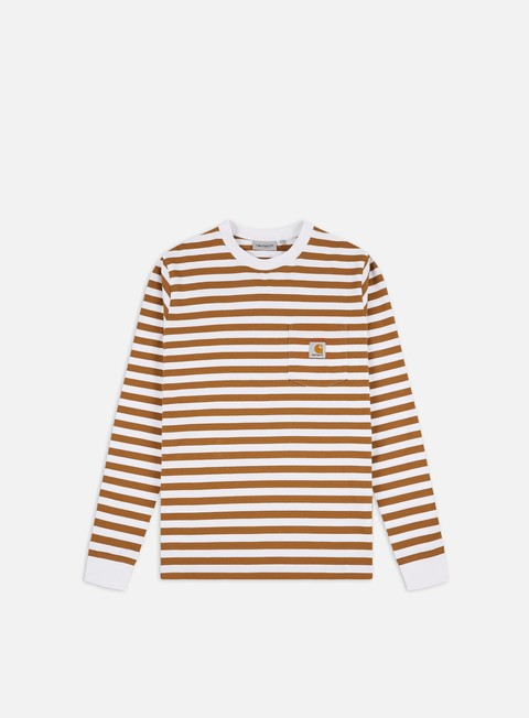 T-shirt a Manica Lunga Carhartt WIP Scotty Pocket LS T-shirt