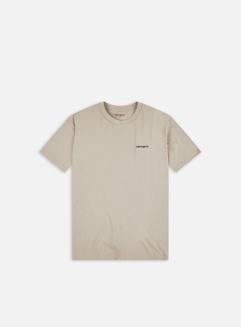 Short sleeve T-shirts Carhartt WIP Script Embroidery T-Shirt