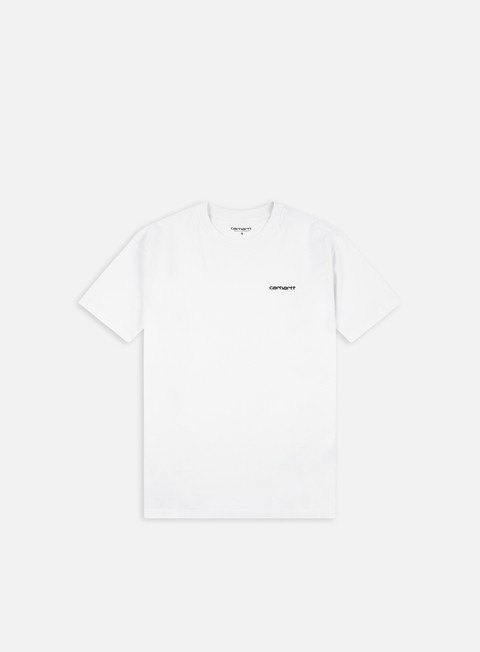 Short Sleeve T-shirts Carhartt WIP Script Embroidery T-shirt