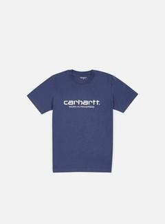 Carhartt - Wip Script T-shirt, Blue/White 1