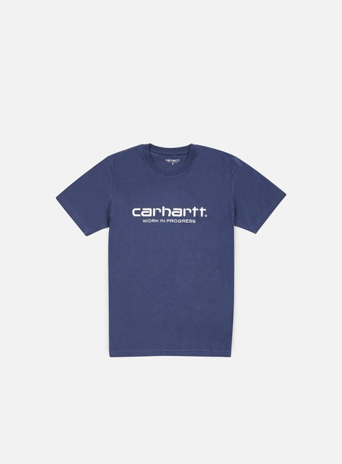 t shirt carhartt wip script t shirt light blue white