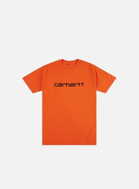Outlet e Saldi T-shirt a Manica Corta Carhartt WIP Script T-shirt