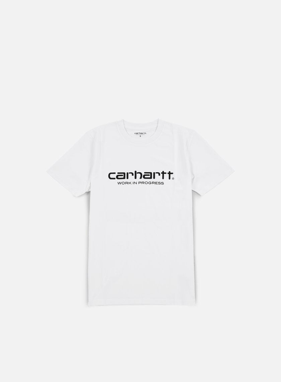 Carhartt - Wip Script T-shirt, White/Black