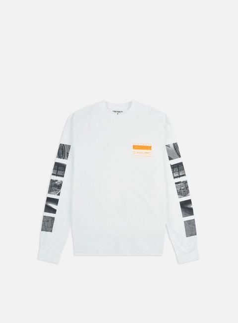 Outlet e Saldi T-shirt a Manica Lunga Carhartt WIP Stack LS T-shirt