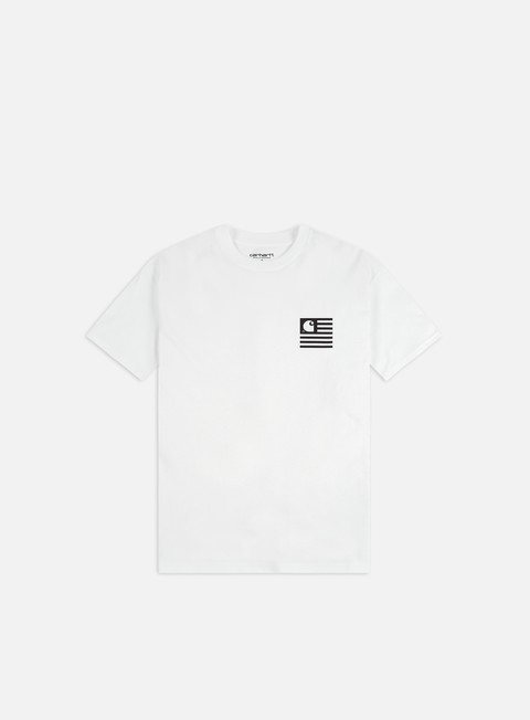 Short Sleeve T-shirts Carhartt WIP State Chromo T-shirt