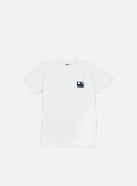 Outlet e Saldi T-shirt a Manica Corta Carhartt WIP State Detroit City T-shirt