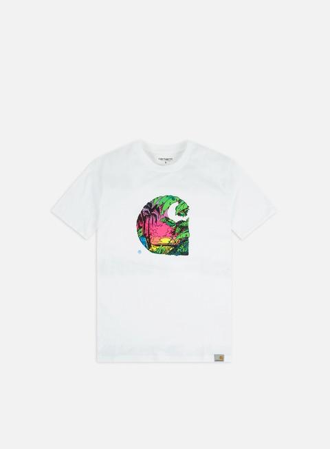Outlet e Saldi T-shirt a Manica Corta Carhartt WIP Sunset C T-shirt
