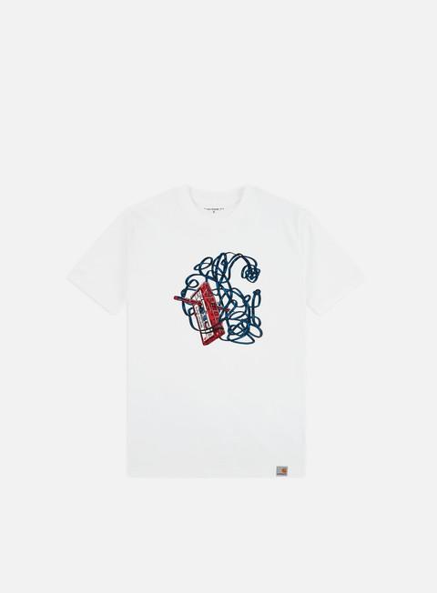 Outlet e Saldi T-shirt a Manica Corta Carhartt WIP Tape T-shirt