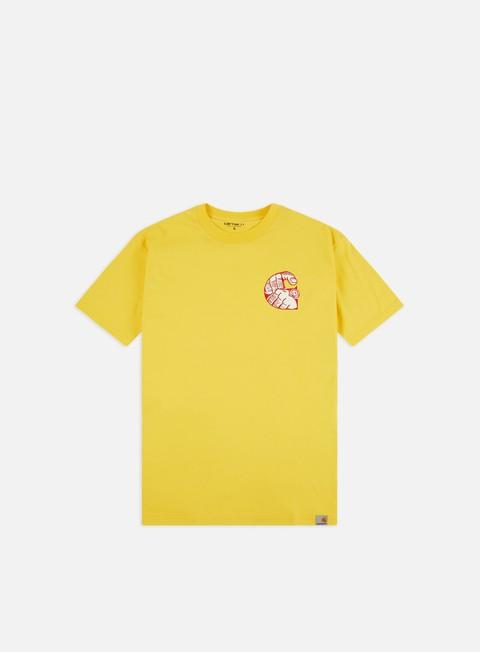 Outlet e Saldi T-shirt a Manica Corta Carhartt WIP Time Is Up T-shirt