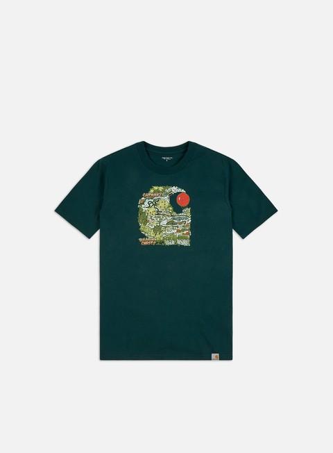 Short Sleeve T-shirts Carhartt WIP Treasure C T-shirt