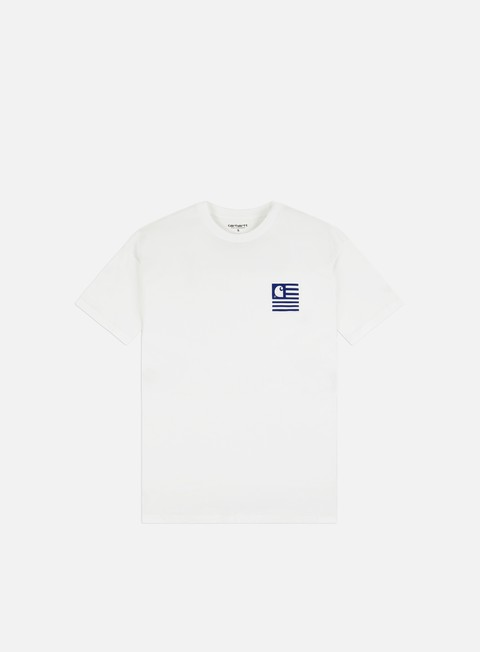 Short Sleeve T-shirts Carhartt WIP Waving State Flag T-shirt