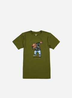 Cayler & Sons - Dabbin Crew T-shirt, Olive/Multi 1