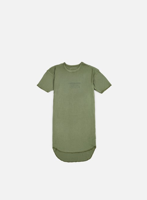 Short Sleeve T-shirts Cayler & Sons Drop Scallop T-shirt
