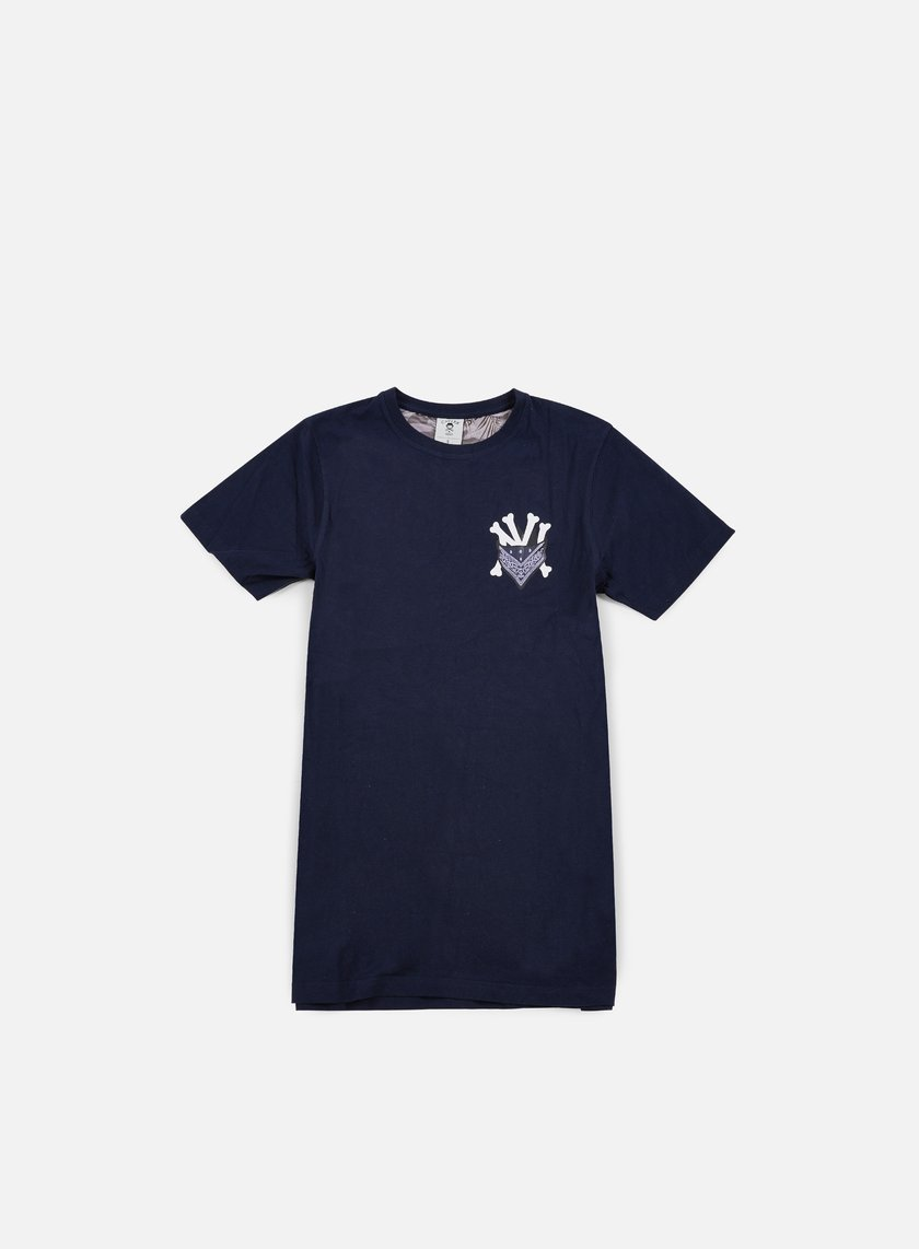 Cayler & Sons - Grime Long T-shirt, Navy/White