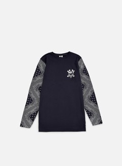 Cayler & Sons - Grime LS T-shirt, Navy/White 1