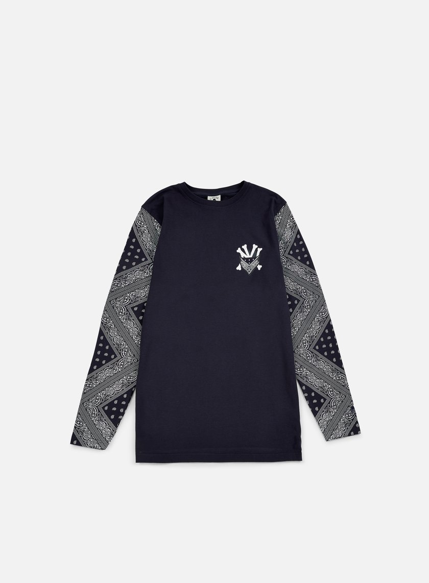 Cayler & Sons - Grime LS T-shirt, Navy/White