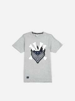 Cayler & Sons - Grime T-shirt, Grey Heather/White/Navy 1