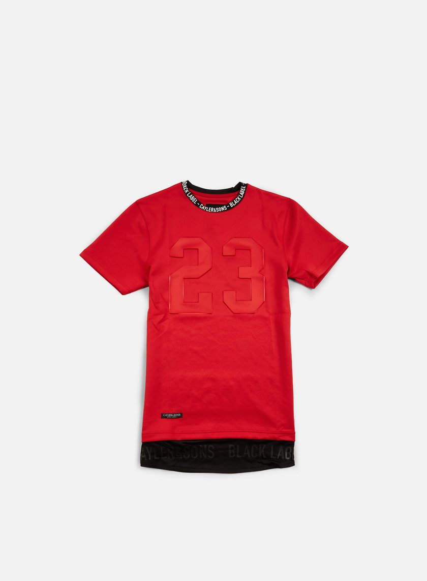 Cayler & Sons - Legend Long T-shirt, Red/Black/White