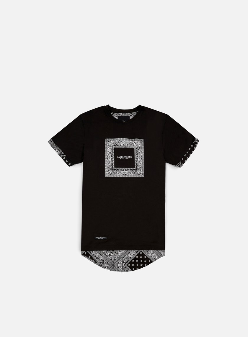 Cayler & Sons - Paiz Long T-shirt, Black/White