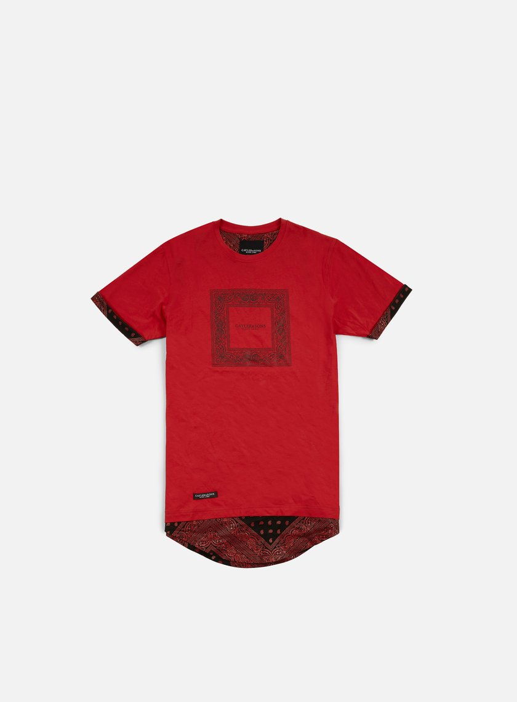 Cayler & Sons - Paiz Long T-shirt, Red/Black
