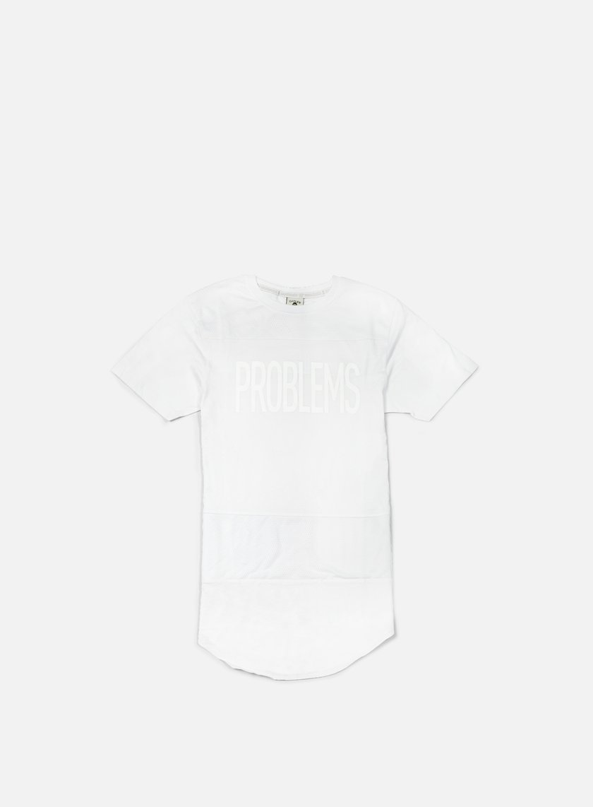 Cayler & Sons - Problems Scallop T-shirt, Platinum White